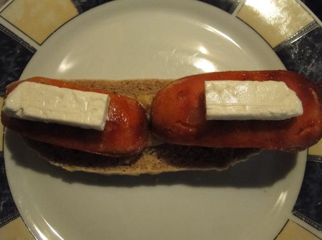 chlieb s kozím syrom
