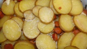 francúzske zemiaky trochu inak
