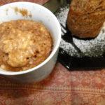 jablkový mug cake