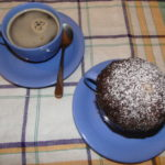 nutelový mug cake