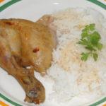 Klasické pečené kurča