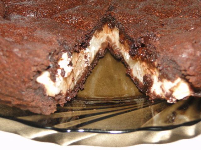 čokoládový koláč s mascarpone