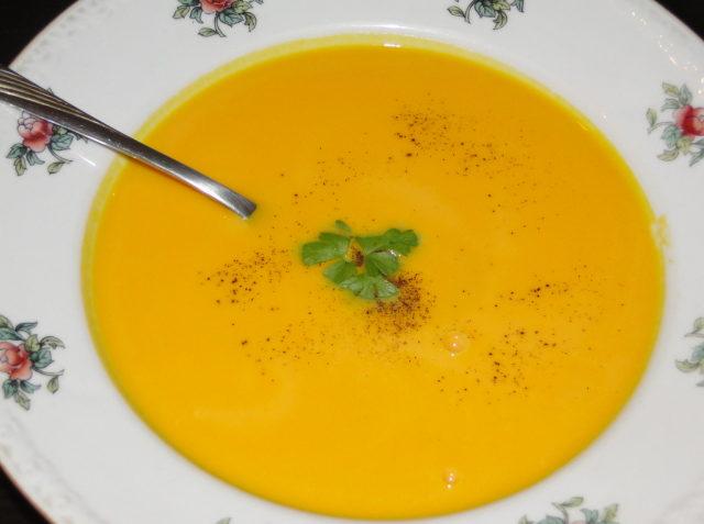 polievky z dyne hokaido