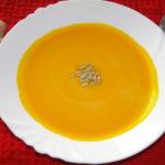 zázvorovo-tekvicová polievka