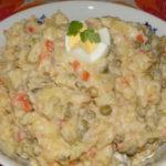 majonézový zemiakový šalát