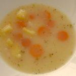 tradičná polievka z bielej fazule