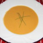 polievka so zázvorom