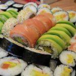 silvestrovské sushi