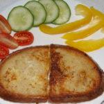 chlebík obaľovaný vo vajíčku