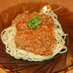 mleté mäso so špagetami