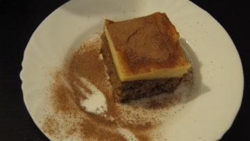rýchly koláč s pudingom
