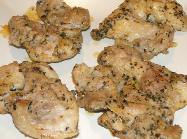 grilované marinované mäso