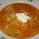 polievka zo sušenej fazule