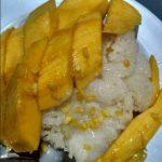 ryža s mangom