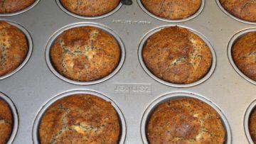 muffiny zo špaldovej múky