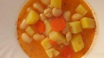 rýchla fazuľová polievka