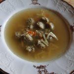 knedličková polievka