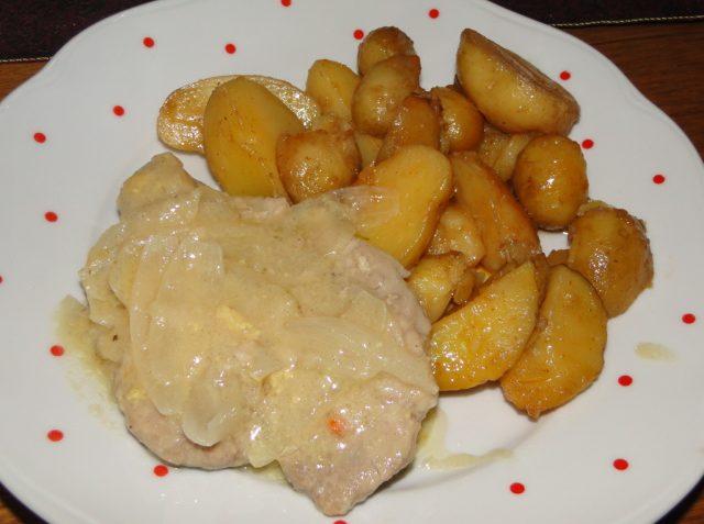 dusené nové zemiaky