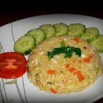 ryža so zeleninou