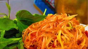 thajský mrkvový šalát