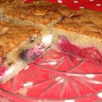 rýchly koláč z tvarohu