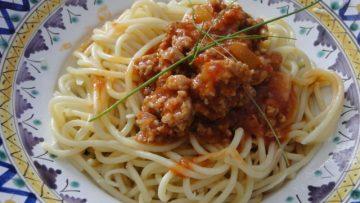 boloňské špagety po slovensky