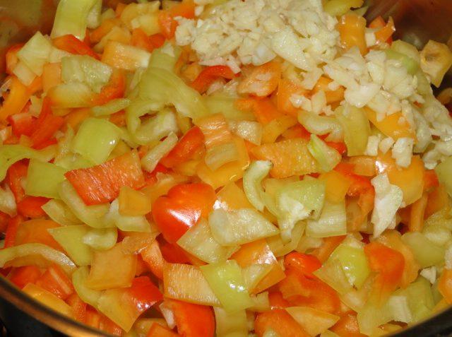 pikantná pasta z papriky