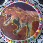 torta pre deti s lentilkami
