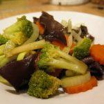 brokolica s mrkvou na curry omáčke