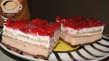koláč z keksov