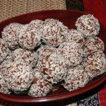orechové guličky s kokosom