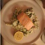 ľahká večera s rybou