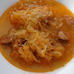 polievka s klobásou