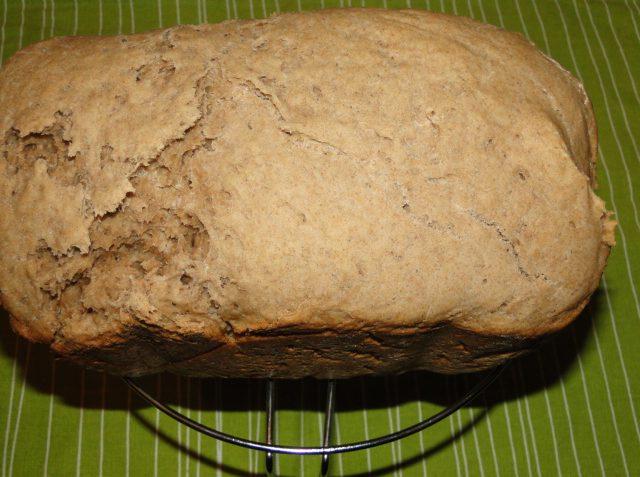domáci ražný chlebík