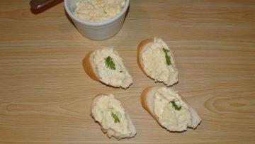 nátierka na chlebíčky