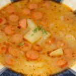 polievka s párkami