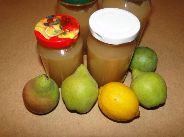 hruškovo-ananásový džem