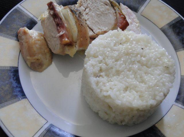 zapečené kura