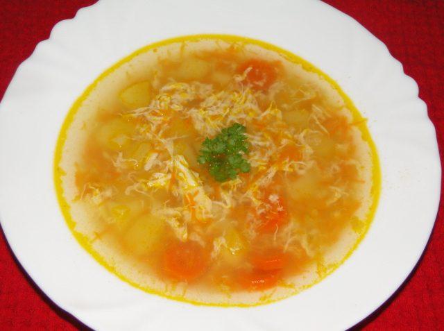 polievka zahustená bez múky