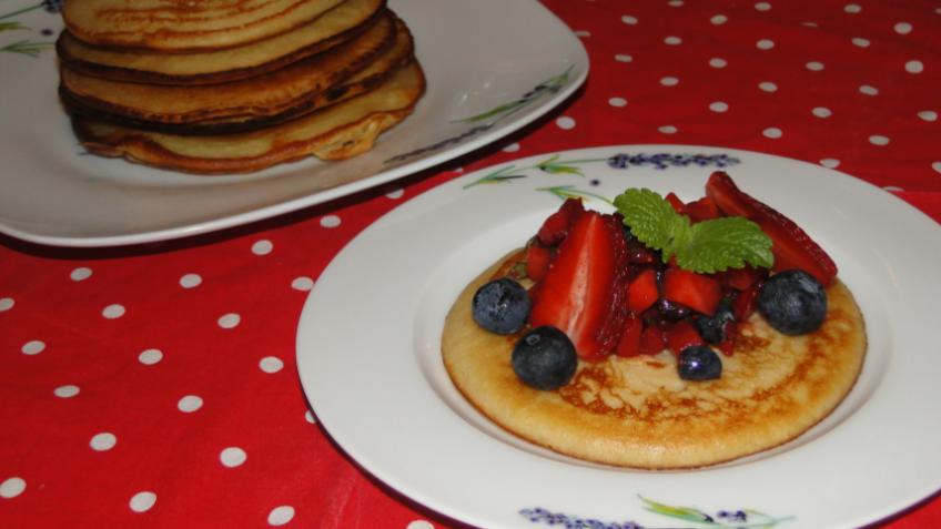sladké raňajky
