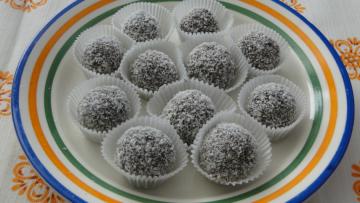 kakaové gulôčky