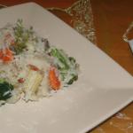 zeleninové jedlo