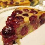 rýchly koláč z čerešní