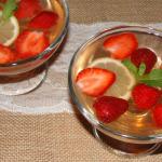 jahodový nápoj