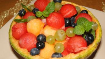 melónový dezert