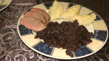 sviatočný obed