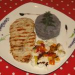 recept z fialových zemiakov