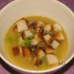 krémová strukovinová polievka