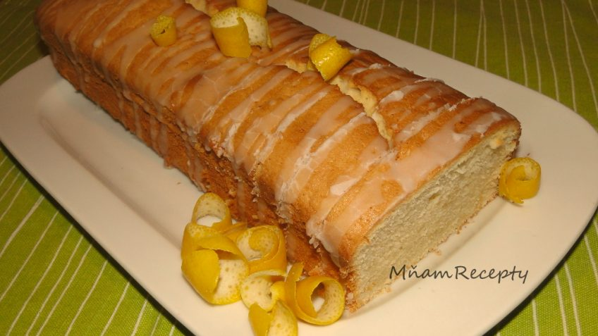 kváskový šťavnatý koláč