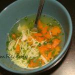 rezancovo-mrkvová polievka